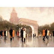 Printfinders Monumental Day by Lorraine Christie Painting Print Canvas Art; 30'' H x 40'' W x 1'' D
