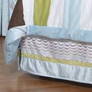 One Grace Place Puppy Pal Boy Cotton Bed Skirt; Full