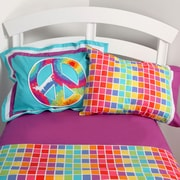 One Grace Place Terrific Tie Dye Sheet Set; Twin