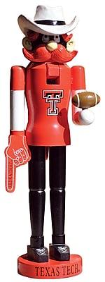 Santa's Workshop NCAA 15'' Nutcracker; Texas Tech Mascot