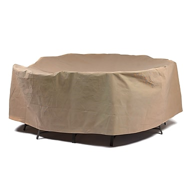 Duck Covers Essential Patio Table & Chairs Set Cover; 29'' H x 76'' W x 76'' D