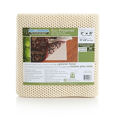Vantage Industries Eco Preserver Non-Slip Rug Pad; 6' x 9'