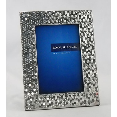 Royal Selangor Mirage Honeycomb Picture Frame; 5'' x 7''