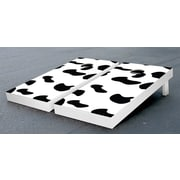 Victory Tailgate Cow Print Cornhole Game Set