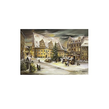 Alexander Taron Bruck and Sohn Scene from City of Meissen Advent Calendar