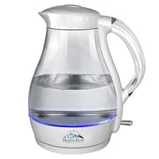 Heaven Fresh USA Inc 1.8-qt Cordless Electric Glass Kettle; White