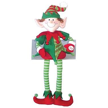 Santa's Workshop 18'' Musical Seated Elf