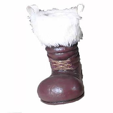 Craft Outlet Santa Boot; Red and White