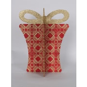 Queens of Christmas 13.5'' 3D Gift Box Set; Red/Gold
