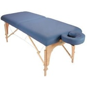CustomCraftworks Athena Table with Carry Case; Agate Blue