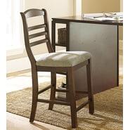 Steve Silver Furniture Bradford Desk Chair; Dark Oak