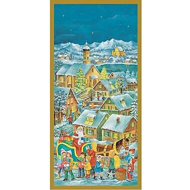 Alexander Taron Korsch Santa w/ Sleigh Advent Calendar
