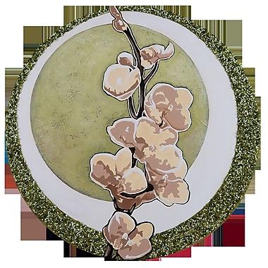 TAF DECOR Spring Breeze Graphic art; 20'' (Diameter)