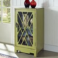 Powell Chippendale End Table; Green