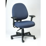 Eurotech Seating Cypher Ratchet Back Office Chair; Navy
