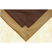 Pupperton Pet Floor Mat w/ Pad for 2' x 6' Pen; Brown Inside & Gold Outside