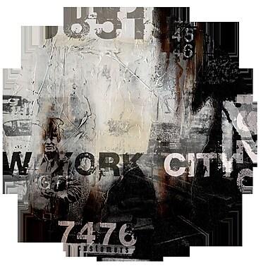 TAF DECOR NY Summer Part 2 Graphic Art; 44'' (Diameter)