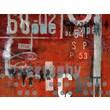 TAF DECOR Typoart 18 Red Area Rug; 67'' H x 94'' W x 0.5'' D