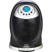 Optimus 1,500 Watt Portable Electric Fan Compact Heater with LCD Display