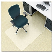 Deflecto Low Pile Carpet Chair Mat; 53'' H x 45'' W
