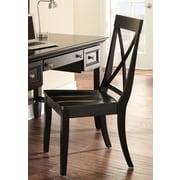 Steve Silver Furniture Oslo Side Chair; Black