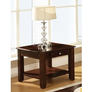 Steve Silver Furniture Nelson End Table; Cherry