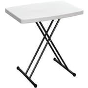 Duralight Rectangular Folding Table; 24'' H x 26'' W x 18'' D