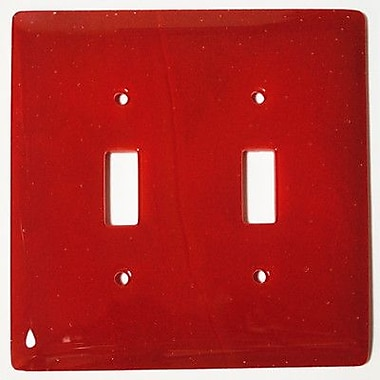 Hot Knobs Solid 2 Gang Switch Wall Plate