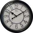 Ashton Sutton 20'' Raised Plastic Number Ring / Case Wall Clock