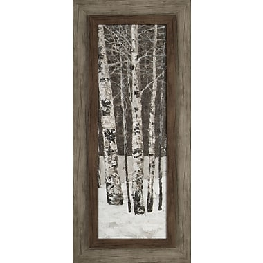 Hobbitholeco. Tree in Winter I by Tina O. Framed Painting Print