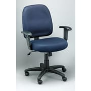 Eurotech Seating Newport Mesh Task Chair with Arms; Navy