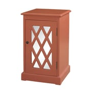 Powell Chippendale End Table; Coral