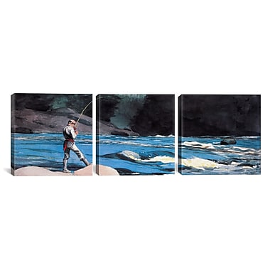 iCanvas St John 3 Piece by Winslow Homer Painting Print on Wrapped Canvas Set