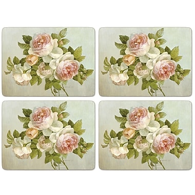 Pimpernel Antique Roses Placement Set Of 4 Staples