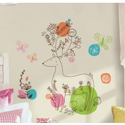 Room Mates Zutano Pixie Deer Peel and Stick Giant Wall Decal