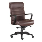 Eurotech Seating Manchester Mid-Back Leather Chair; Brown
