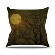 KESS InHouse Starry Night Throw Pillow; 20'' H x 20'' W