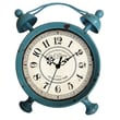 Cheungs Table Clock; Distressed Teal
