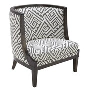 Sunpan Modern 5West Walters Arm Chair; Grey