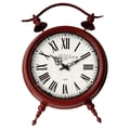 Cheungs Large Table Clock; Red