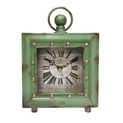 Ashton Sutton Quartz Case Table Clock