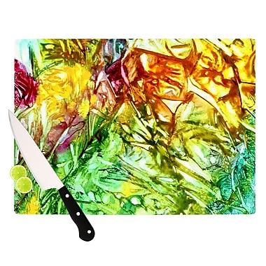 KESS InHouse Kaleidoscope Cutting Board; 8.25'' H x 11.5'' W x 0.25'' D