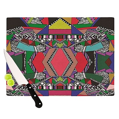 KESS InHouse African Motif Cutting Board; 11.5'' H x 15.75'' W x 0.15'' D