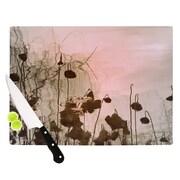 KESS InHouse Lotus Dream Cutting Board; 11.5'' H x 15.75'' W x 0.15'' D