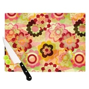 KESS InHouse Colorful Mix Cutting Board; 11.5'' H x 15.75'' W x 0.15'' D