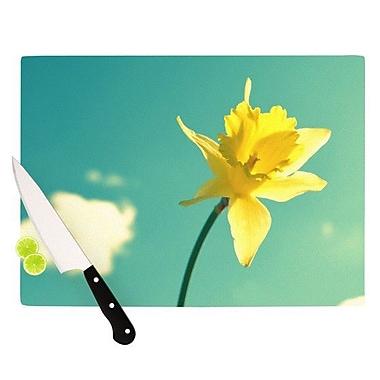 KESS InHouse Daffodil Cutting Board; 11.5'' H x 15.75'' W x 0.15'' D