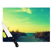 KESS InHouse Walk With Love Cutting Board; 8.25'' H x 11.5'' W x 0.25'' D