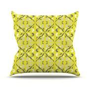 KESS InHouse Seedtime Throw Pillow; 26'' H x 26'' W