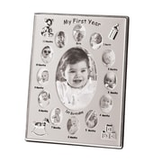 Zingz & Thingz Baby's First Year Photo Frame