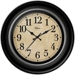 Ashton Sutton 12'' Quartz Analog Wall Clock